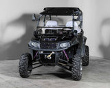 "Polaris RZR 570/800/900 Full Tilting UTV Windshield 1/4"" - Scratch Resistant - Models 2014 and older"