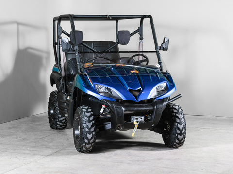 "Kawasaki Teryx Full Tilting UTV Windshield 3/16"" - Scratch Resistant - Models 2009 and older"