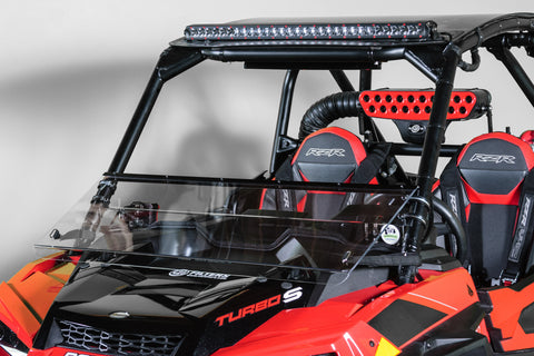 "Polaris RZR XP Turbo/S 2019+ Full Tilt Windshield 1/4"" MAR"