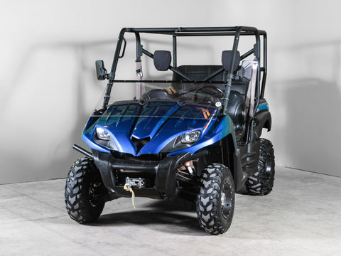 "Kawasaki Teryx Full Tilting UTV Windshield 1/4"" - Scratch Resistant - Models 2009 and older"