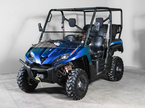 "Kawasaki Teryx Full Tilting UTV Windshield 3/16"" - Models 2009 & Older"