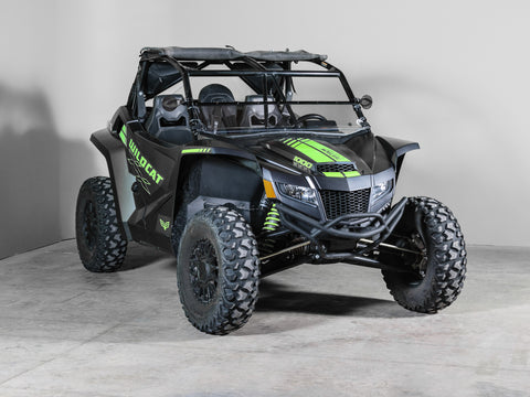 "Arctic Cat Wildcat XX Full Tilting UTV Windshield 3/16"" Scratch Resistant"