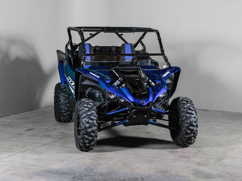 "Yamaha YXZ Full Tilting UTV Windshield 1/4"" - Scratch Resistant - Model 2019"