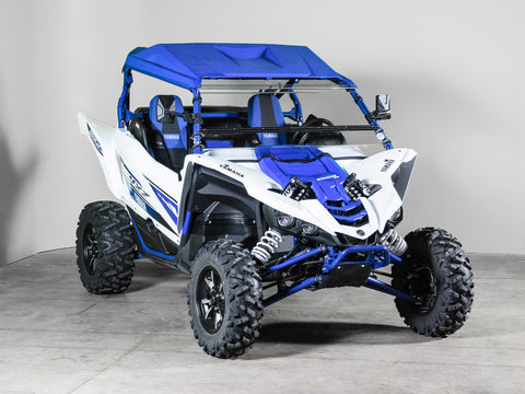 "Yamaha YXZ Full Tilting UTV Windshield 1/4"" - Scratch Resistant - Models 2018 and older"