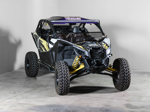"Can-am Maverick X3 No Intrusion Full Tilting UTV Windshield 3/16"" - Scratch Resistant"