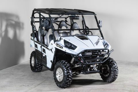 "Kawasaki T4 Full Tilting UTV Windshield 3/16"" - 2012-2014"