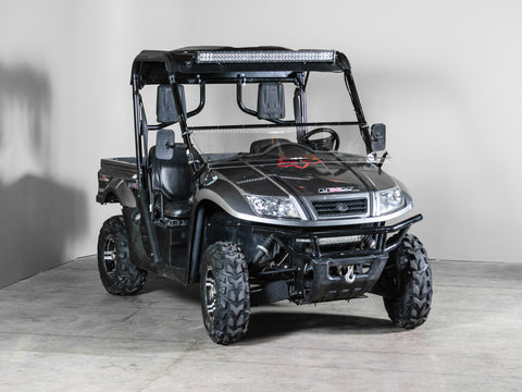 "Kymco Full Tilting UTV Windshield 3/16"" - Models 2009-2013"