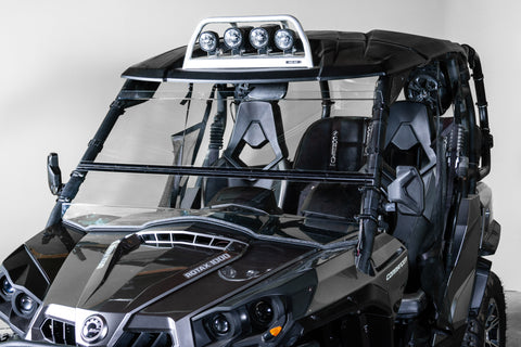 "Can-Am Commander Full Tilting UTV Windshield 3/16"" - Scratch Resistant"