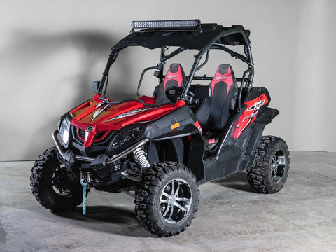 "CF Moto Z Force Full UTV Windshield 1/4"" - Scratch Resistant"
