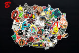 Anime Waterproof Stickers (50-100 pieces)