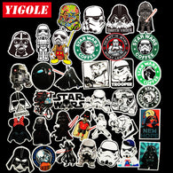 Star Wars Waterproof Stickers (35 pieces/lot)