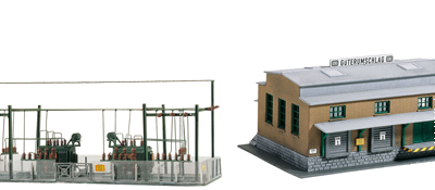 N-Scale Buildings