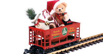 PIKO #37813: Hermann Christmas Bear Car