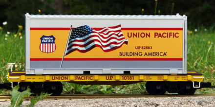 PIKO #38750: Union Pacific Container Car