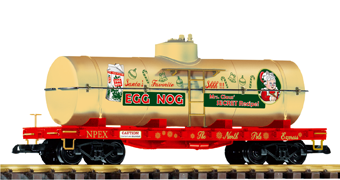 PIKO #38759: Christmas EggNog Tank Car