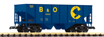 PIKO #38882 Chessie/B&O Hopper Car