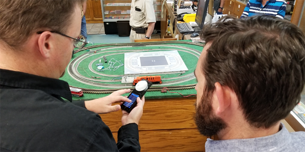 Dan shows SmartControl at The Western Depot