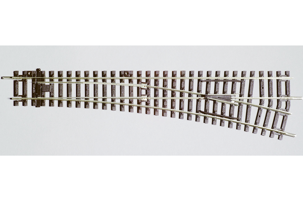 55221 Right Switch WL, R9, 239mm (HO-Scale)
