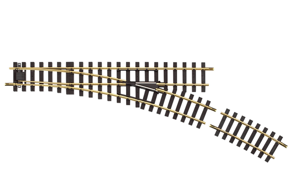 35227 R7 Manual Switch Right 22.5° Track (G-Scale)