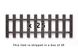 "35231 Box of 25, SB280 Tie Strip, 11"" (G-Scale)"