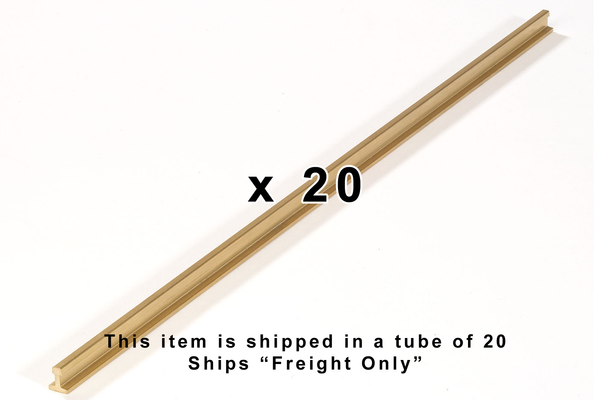 "35250 Tube of 20, P3000 Rail, 118.1"" (G-Scale)"