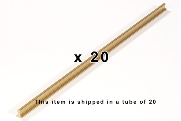 "35251 Tube of 20, P1500 Rail 1500mm, 59"" (G-Scale)"