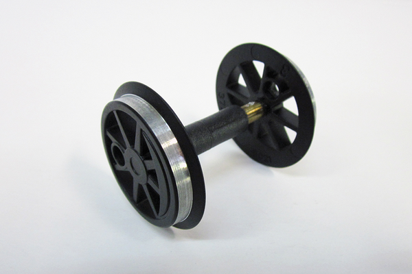 36079 Center Wheelset: 0-6-0T, Black G-Scale)