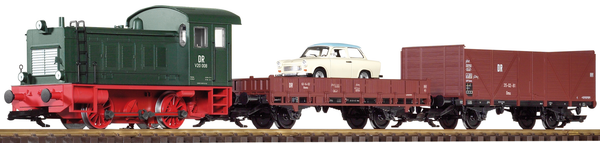 38121 DR V20 Freight Starter Set w/ Analog Sound (G-Scale)