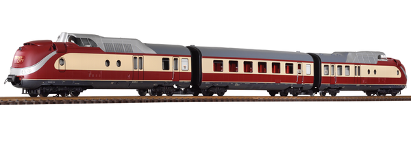 37321 DB IV TEE Turbine BR602 3-Unit Train (G-Scale)