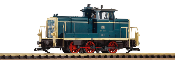 37526 DB IV BR260 Diesel Switcher, Blue (G-Scale)