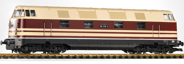 37575 DR IV BR 118 Diesel Locomotive, 4-axle, 2-Stripe (G-Scale)