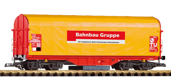 37720 Track Cleaning Shimmns Tarp Car (G-Scale)