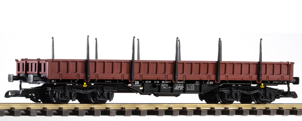 37761 DR IV Low-Side Gondola with Stakes, Res (G-Scale)