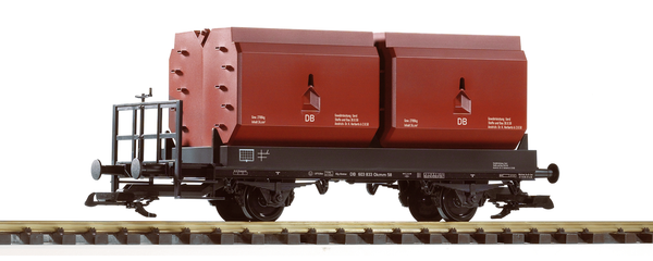 37770 DB III Coking Coal Container Car (G-Scale)