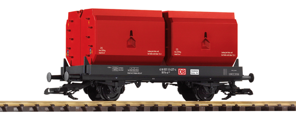 37772 DB V Coking Coal Container Car (G-Scale)