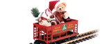 37813 Hermann Christmas Bear Car (G-Scale)