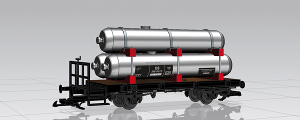 37831 DB III 2-Axle Emergency Tank Car (G-Scale)