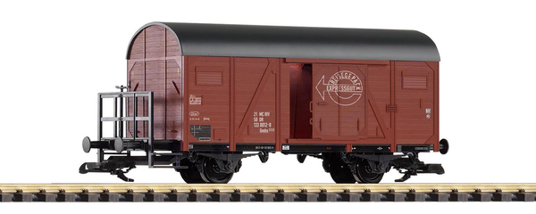 37945 DB IV 2-Axle Boxcar with Brake Platform, Expressgut  (G-Scale)