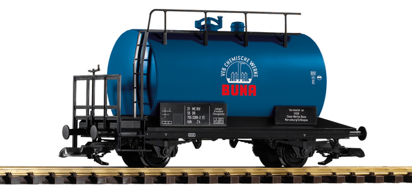 37956 DR IV BUNA 2-Axle Tank Car w/ Brake Platform (G-Scale)