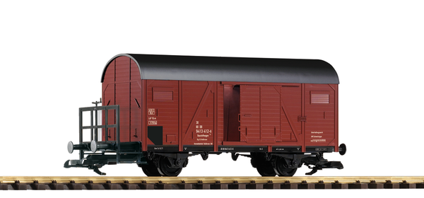 37960 DB IV 2-Axle Boxcar with Brake Platform (G-Scale)