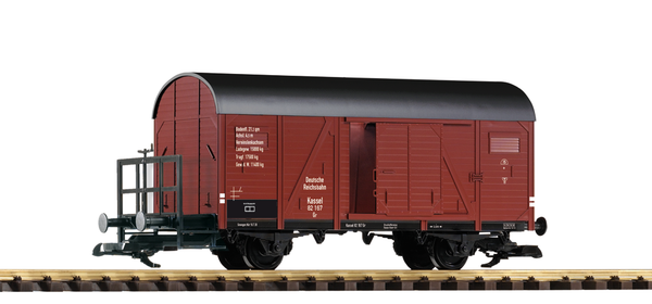 37961 DRG II 2-Axle Boxcar with Brake Platform (G-Scale)
