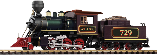 38227 SF Mogul Steam Locomotive (G-Scale)
