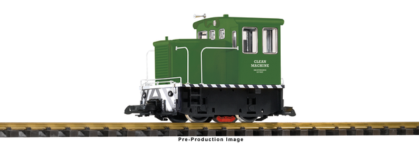 38508 Clean Machine Green Track Cleaning Locomotive (G-Scale)