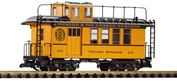 38602 D&RGW Drovers Caboose (G-Scale)