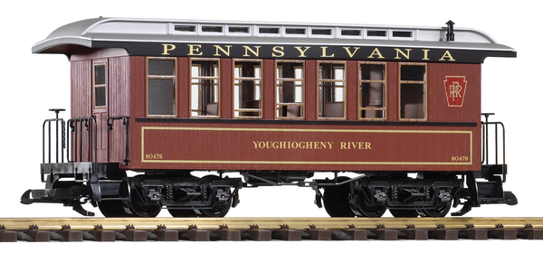 38629 PRR Wood Coach #80476 (G-Scale)