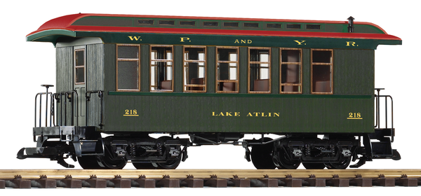 38631 White Pass Wood Coach #218 (G-Scale)