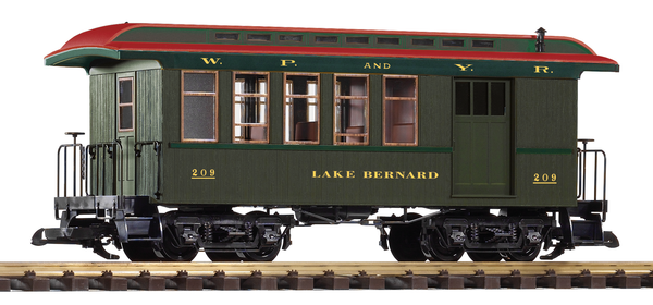 38633 White Pass Wood Combine #209 (G-Scale)