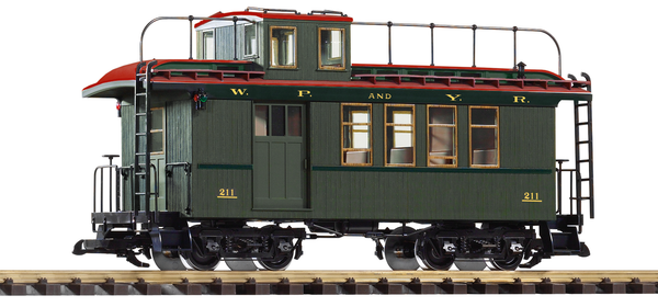 38634 White Pass Drovers Caboose (G-Scale)