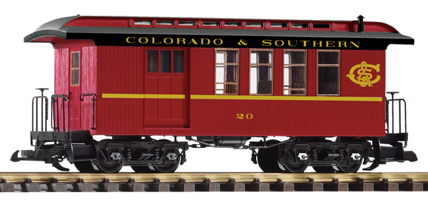 38645 C&S Wood Combine (G-Scale)