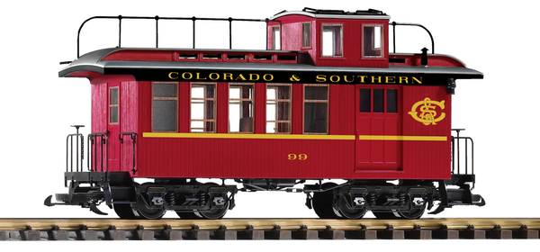 38646 C&S Drovers Caboose (G-Scale)